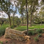 Подпорные стенки: варианты садовых конструкций