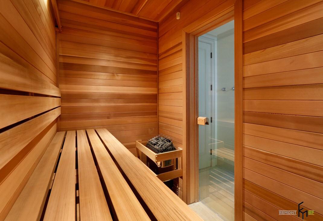 Дизайн парной в бане проекты