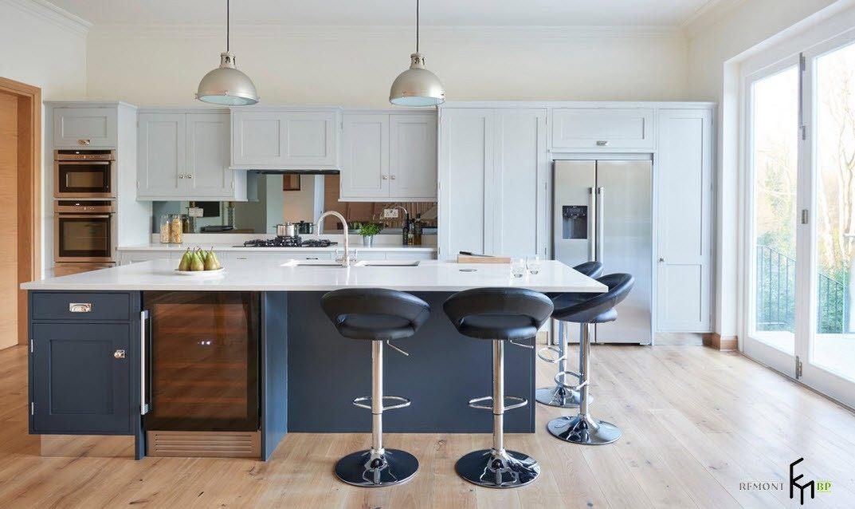 Кухонный остров - центр фокусировки