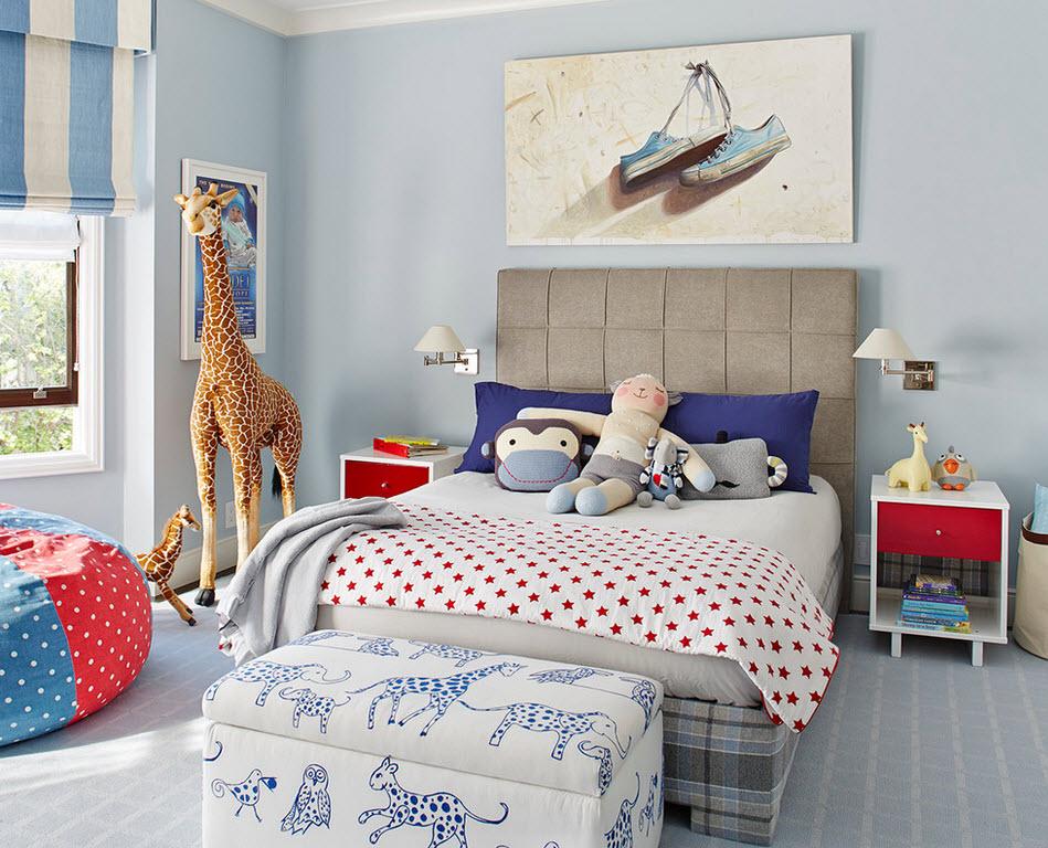 Веселая комната для малыша