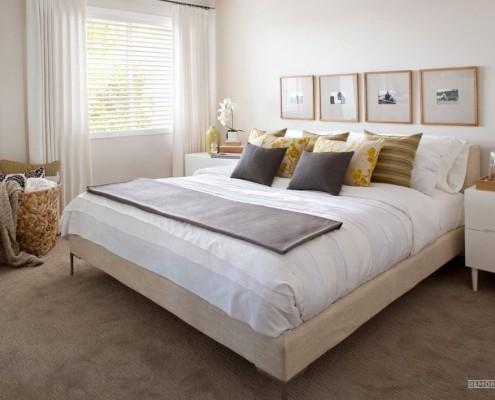 Элегантный интерьер спальни