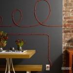 Провода как элемент декора
