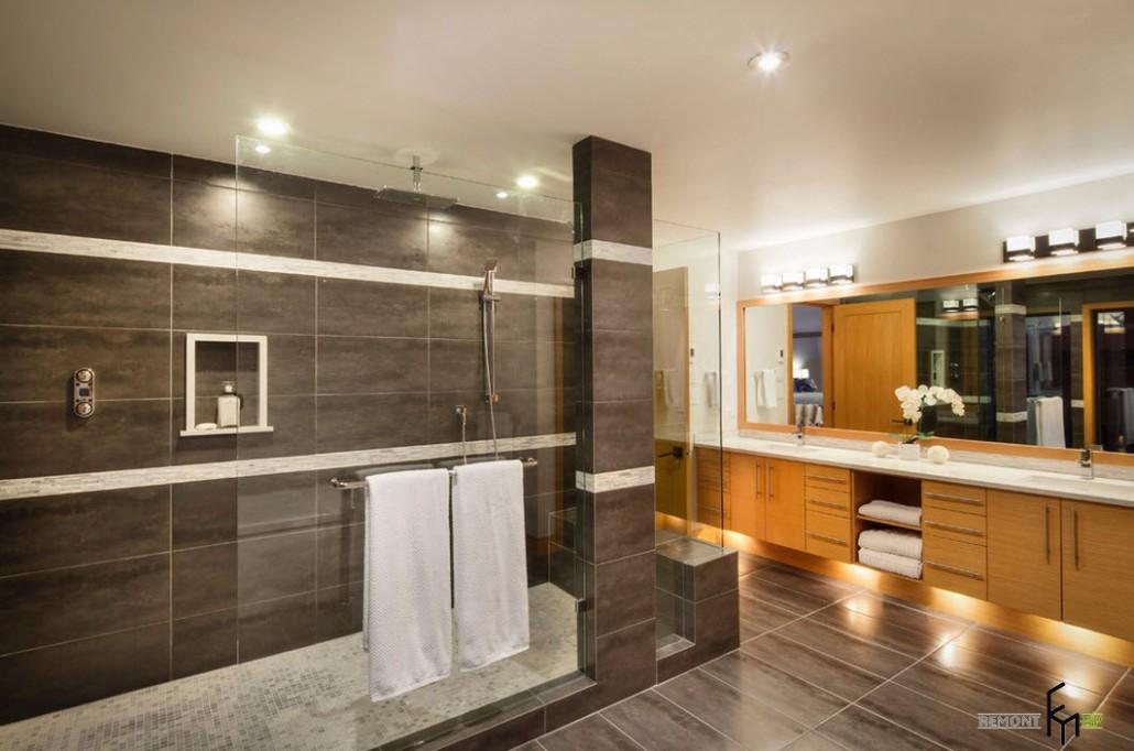 Уютная ванная без унитаза: свет, цвет и форма новые фото