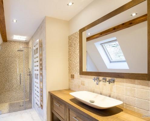 Мозайка в ванной комнате