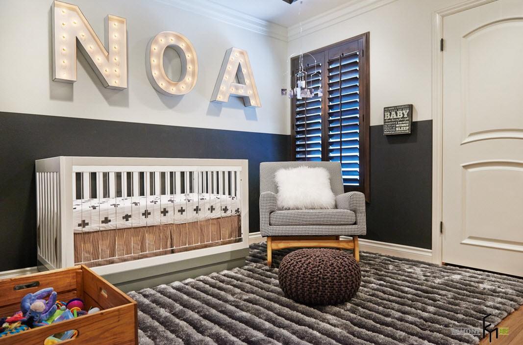 Уютная комната для подросшего малыша