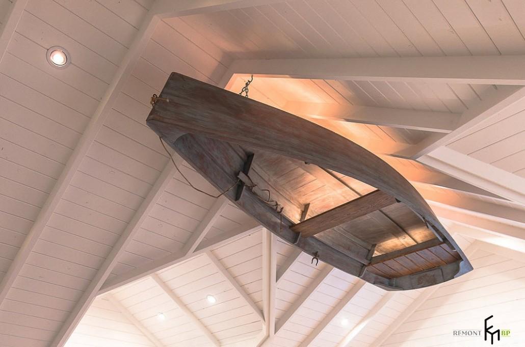 лодка под потолком