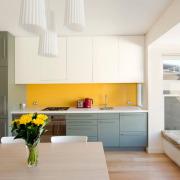 Цветовое деление кухонных зон
