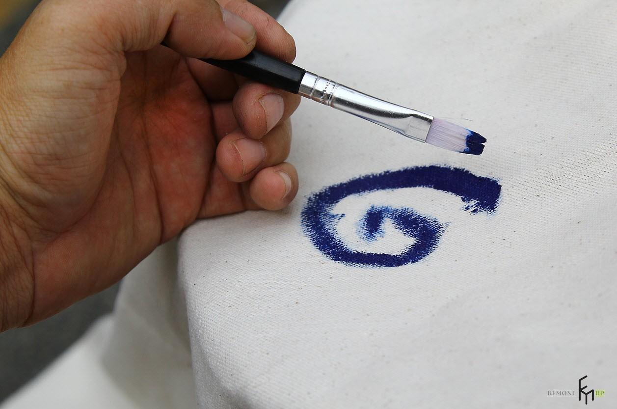 Седьмой этап изготовления кресла-гамака