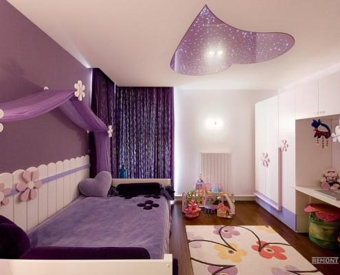 Креативный потолок в детской