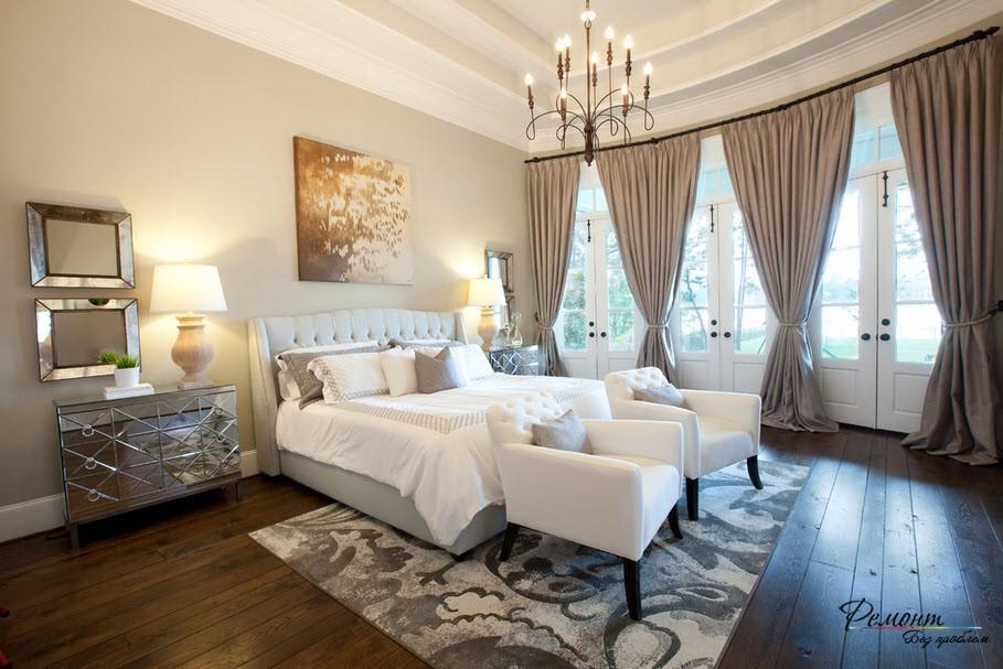 Спальня в аристократическом стиле