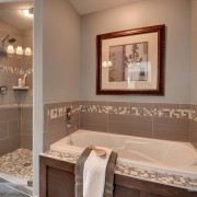 Серые цвета в ванной