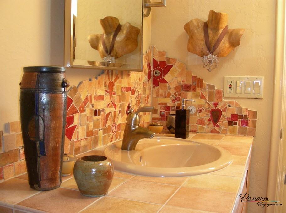 Плитка на стену в ванную комнату своими руками 38