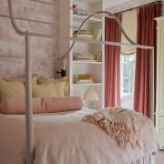 Оригинальное оформление кровати