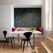 Грифельная или меловая доска для рисования в интерьере: стильно и модно
