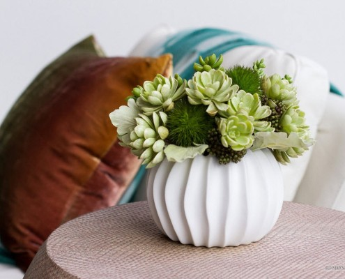 Глиняные горшки для комнатных растений, выполненные в виде экзотических плодов