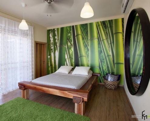 Крупное изображение бамбука