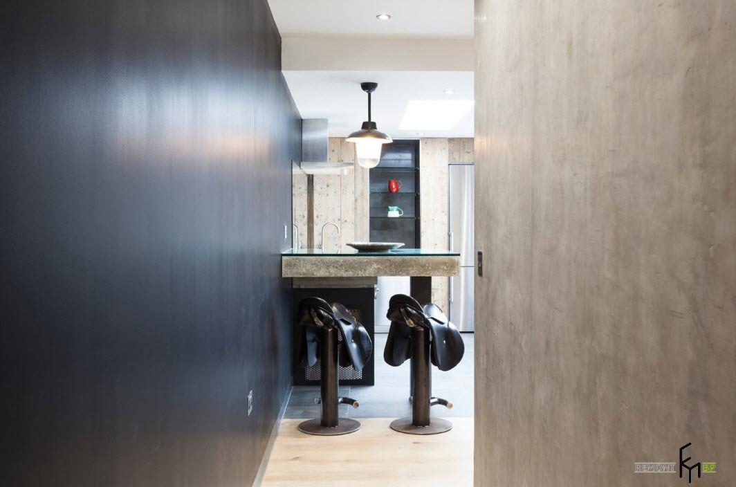 Кухонная мебель в индустриальном стиле