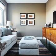 Декорирование гостиной в квартире - студии