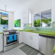 Мозаика в зеленых оттенках