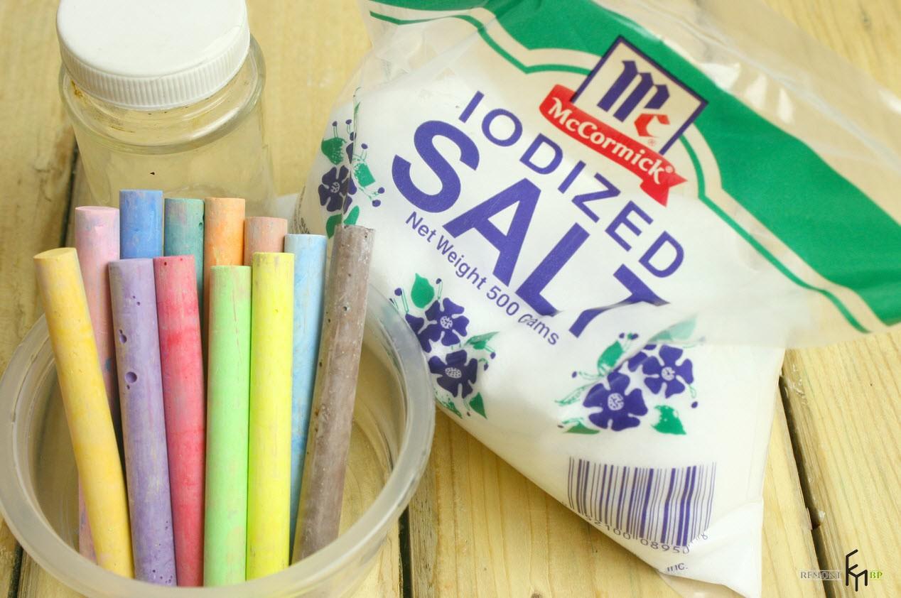 Как сделать разноцветный песок для украшения интерьера: идеи декора