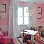 Розовая детская комната: сказка для принцесс