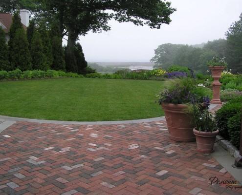 Безумно красивый интерьер двора