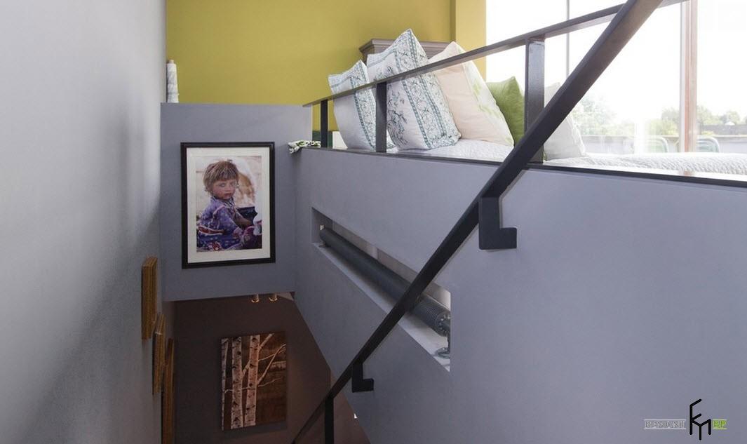 Вниз по лестнице