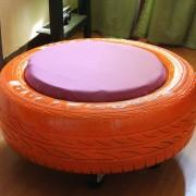 Четырнадцатый этап изготовления стула