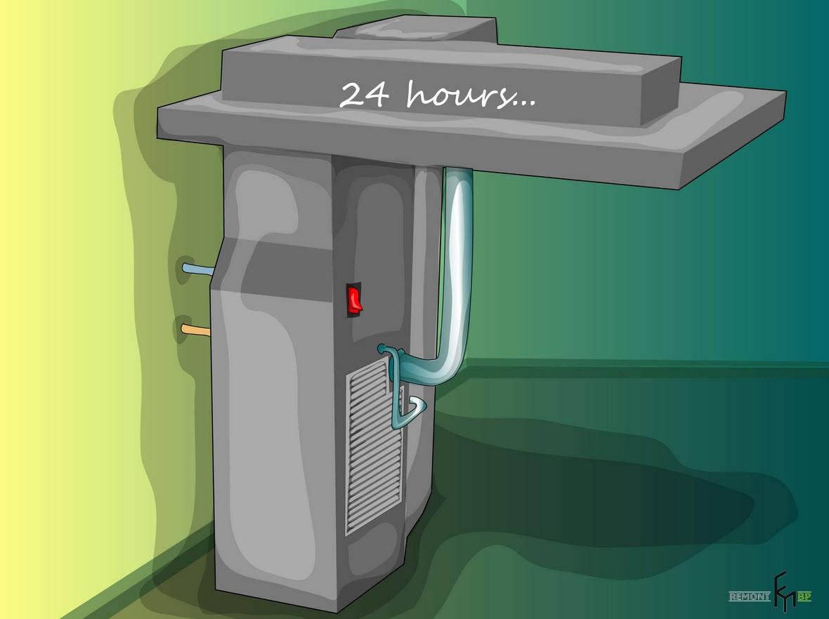 Второй способ чистки кондиционера, востмой шаг