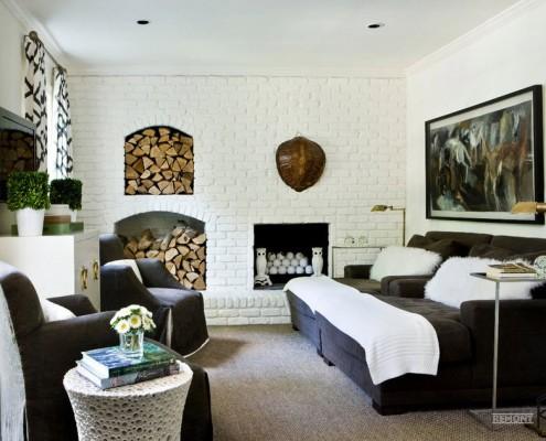 Потрясающе красивая гостиная