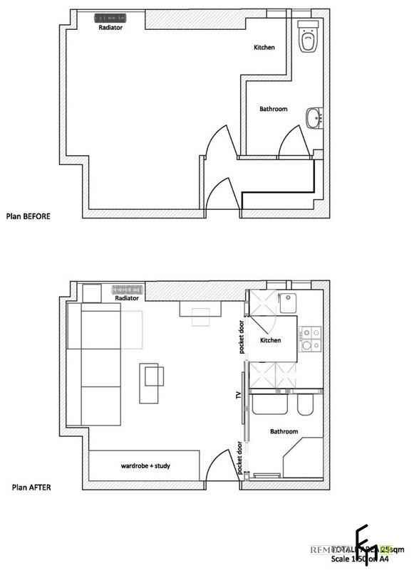Технический план квартиры-студии