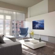 Телевизор в гипсокартонной конструкции