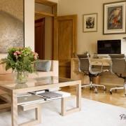 Оформление гостиной с рабочим местом