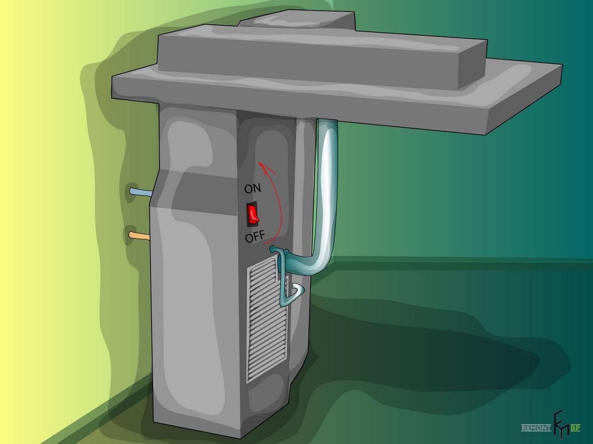 Второй способ чистки кондиционера, девятый шаг