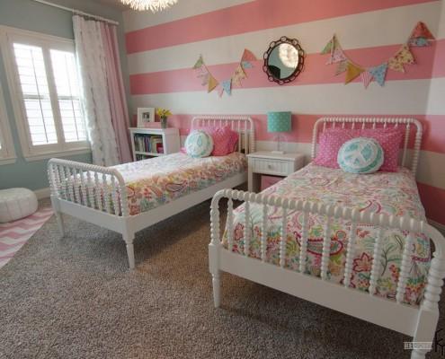 Детская с парными кроватями