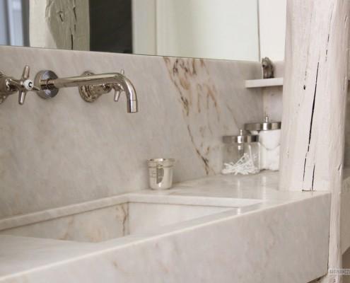 Ванная в парижском доме