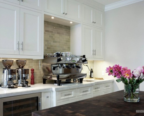Изысканный интерьер кухни