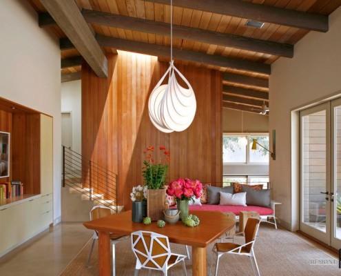 Деревянный потолок и другие деревянные элементы