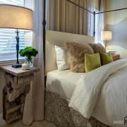 Элегантные светильники в спальне