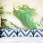 Фотообои в спальне: дверь в другой мир