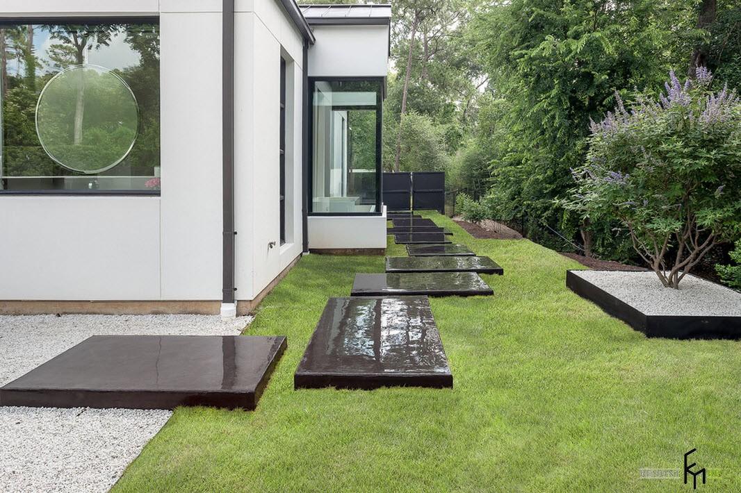 30 идей ландшафтного дизайна для частного приусадебного участка на фото