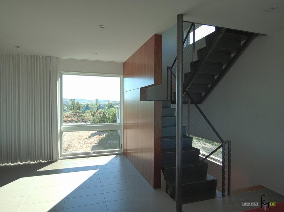 100 идей дизайна лестницы для современного загородного дома на фото
