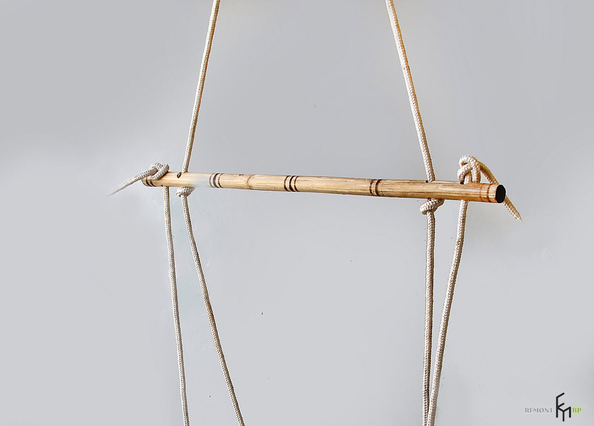 Одиннадцатый этап изготовления кресла-гамака