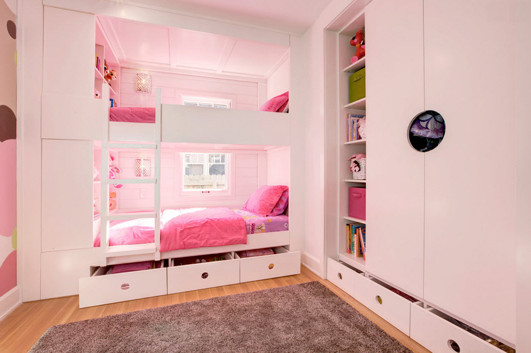 Кровать с ящиками: 30 фото примеров искусного дизайна