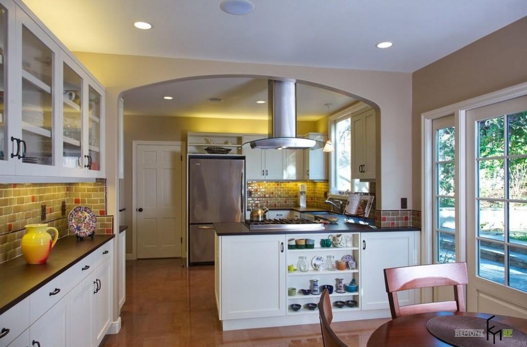 Кухня совмещенная с коридором: 30 идей и способов комбина....
