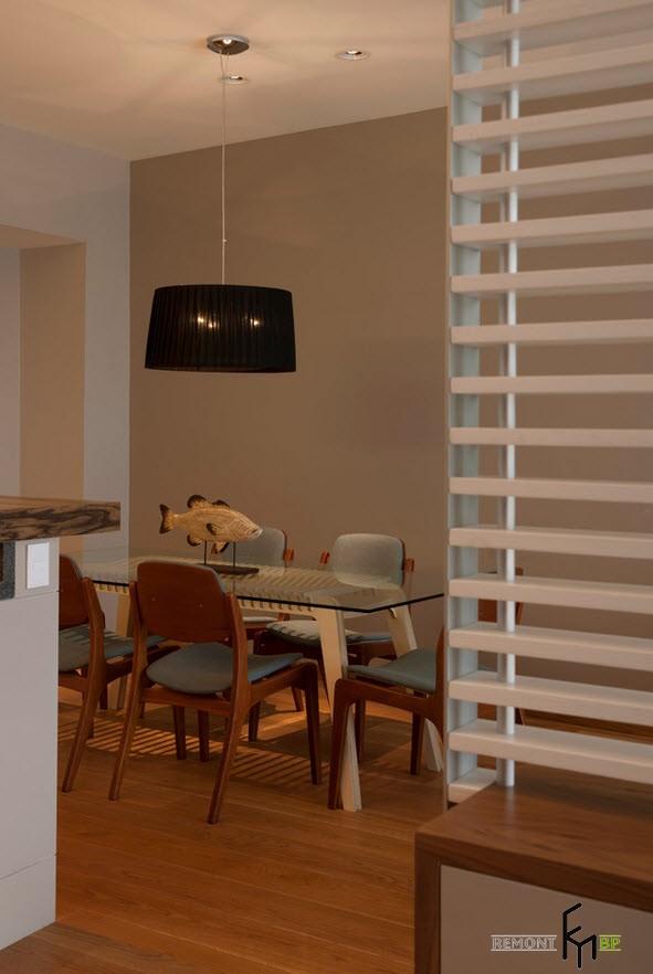 Дизайн бежевой квартиры