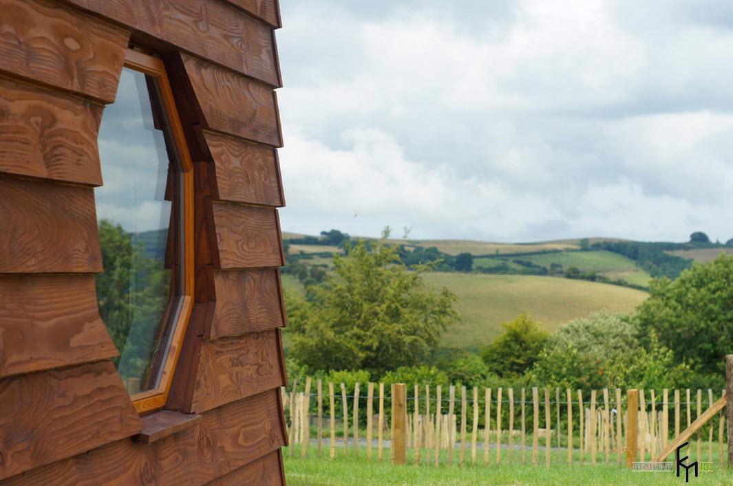 Оригинальный дачный домик: стиль, особенности декора, внутренняя планировка