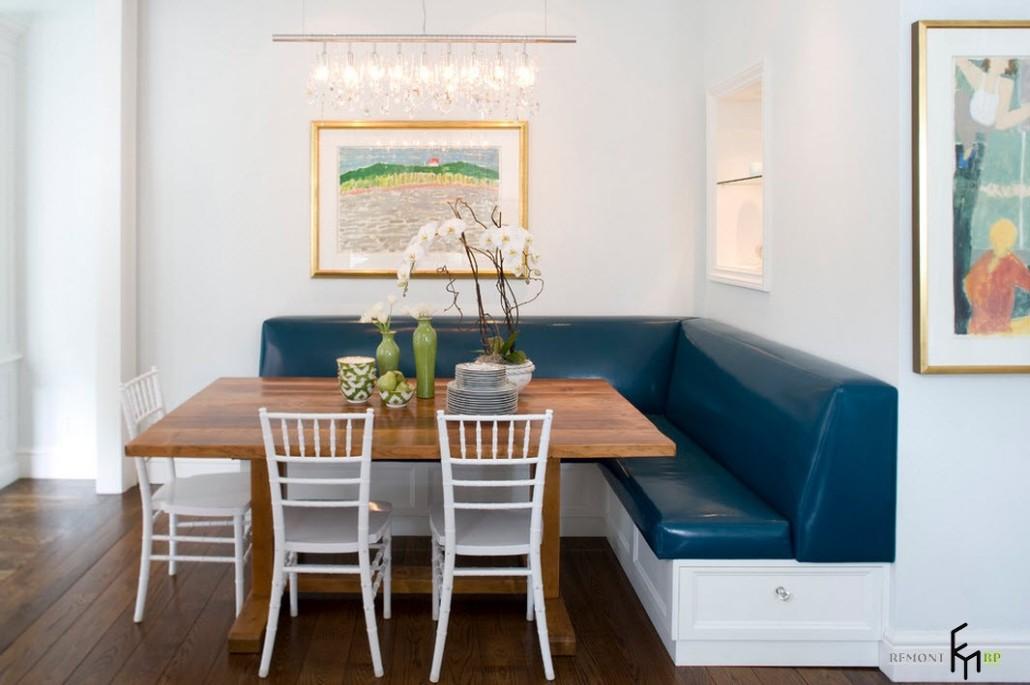 Фото кухонных диванов в интерьере