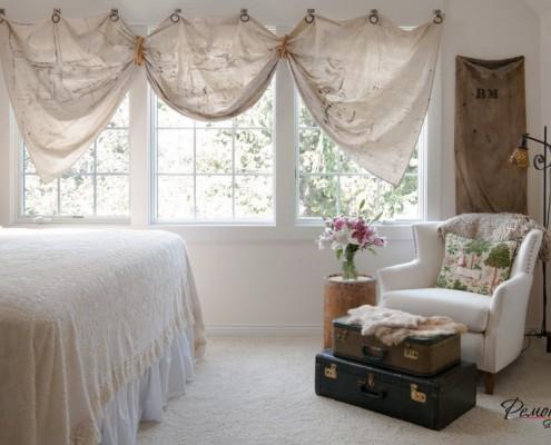 Креативный и стильный интерьер спальни