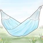 Три конструктивных способа сделать гамак для дачи